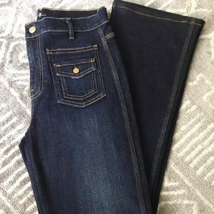 7 For All Mankind High Rise Flare Jean